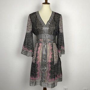 INC International Concepts Sheer Silk Dress